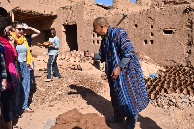 Pottery Making in Tamegroute, Morocco