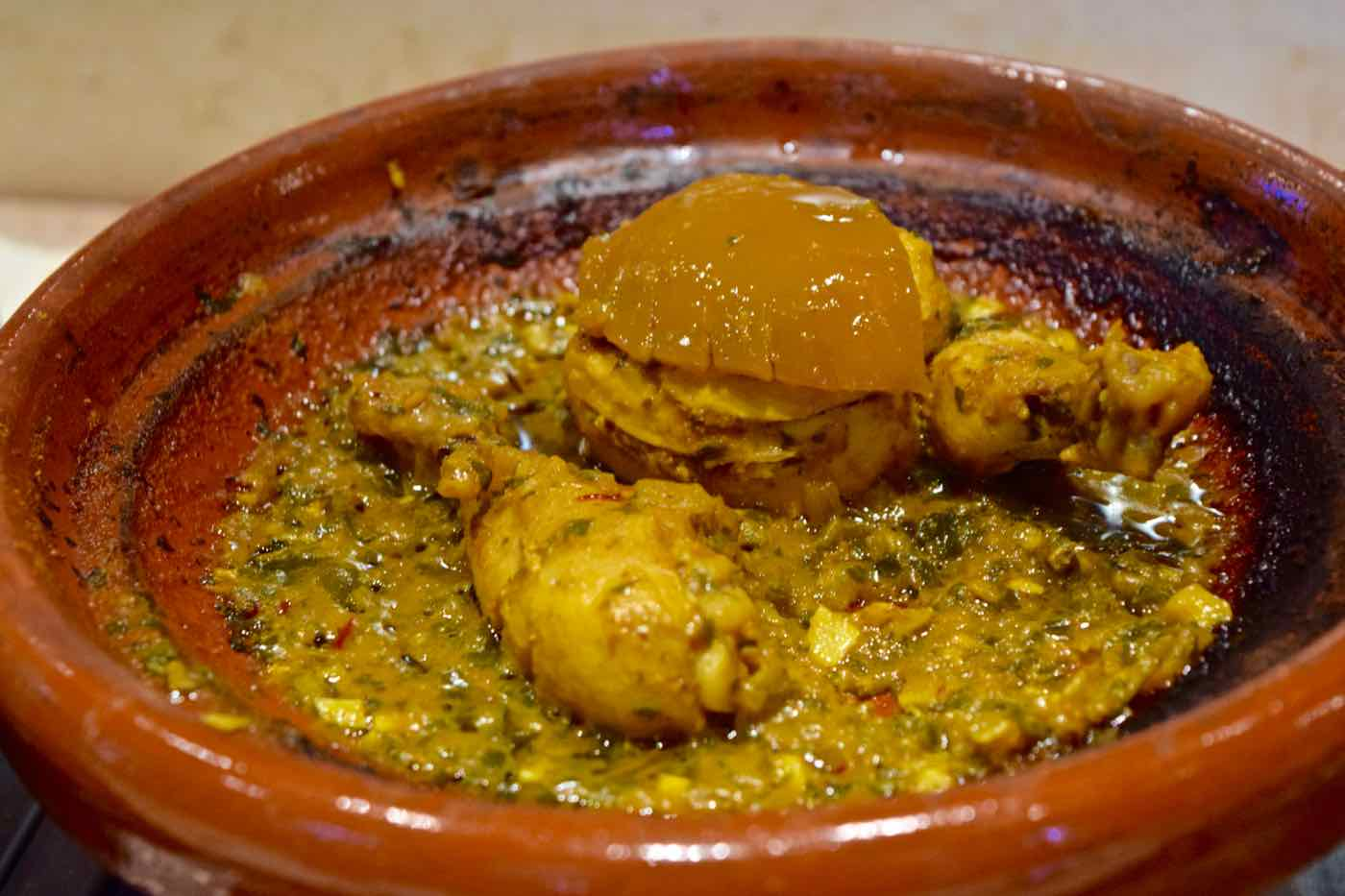 Chicken Tagine at La Maison Arabe Marrakech