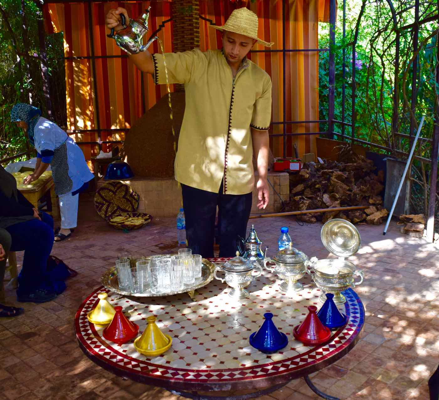 Moroccan Tea at La Maison Arabe Marrakech