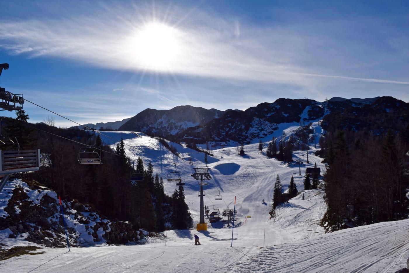 Vogel Ski Resort, Slovenia