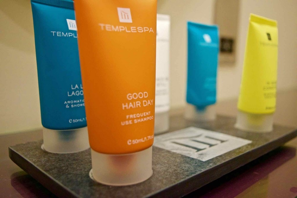 Temple Spa products at Burley Manor Hotel, New Forest