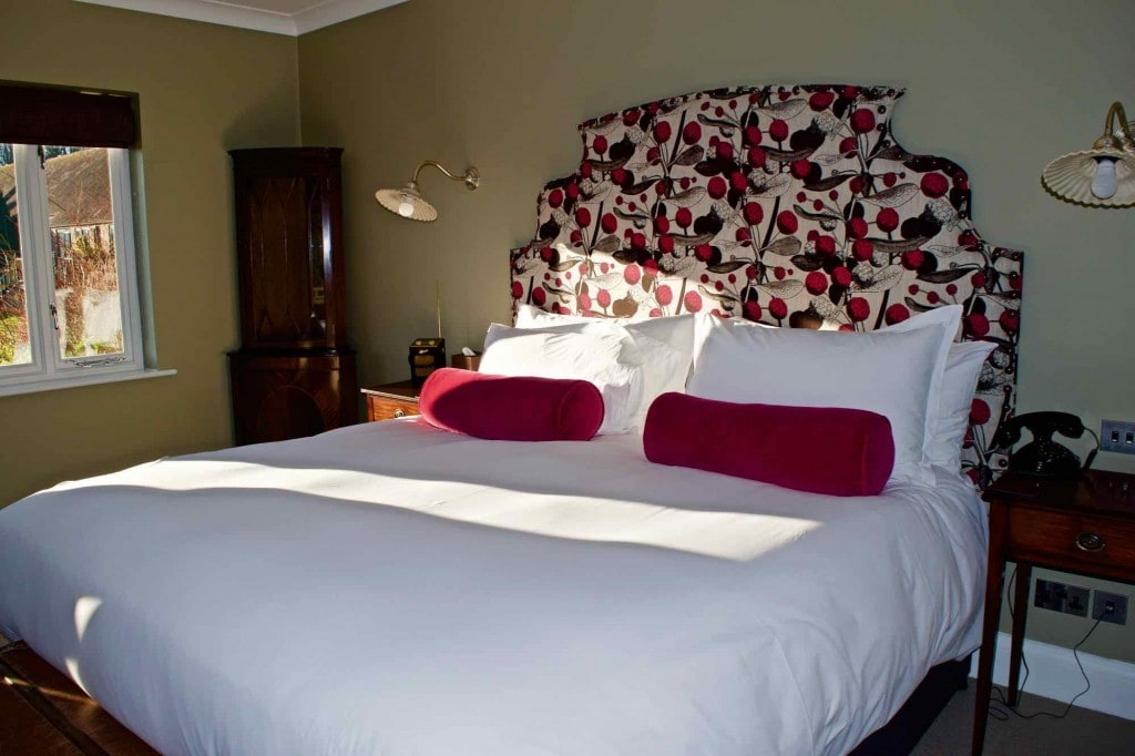 Bedroom at Burley Manor Hotel, New Forest
