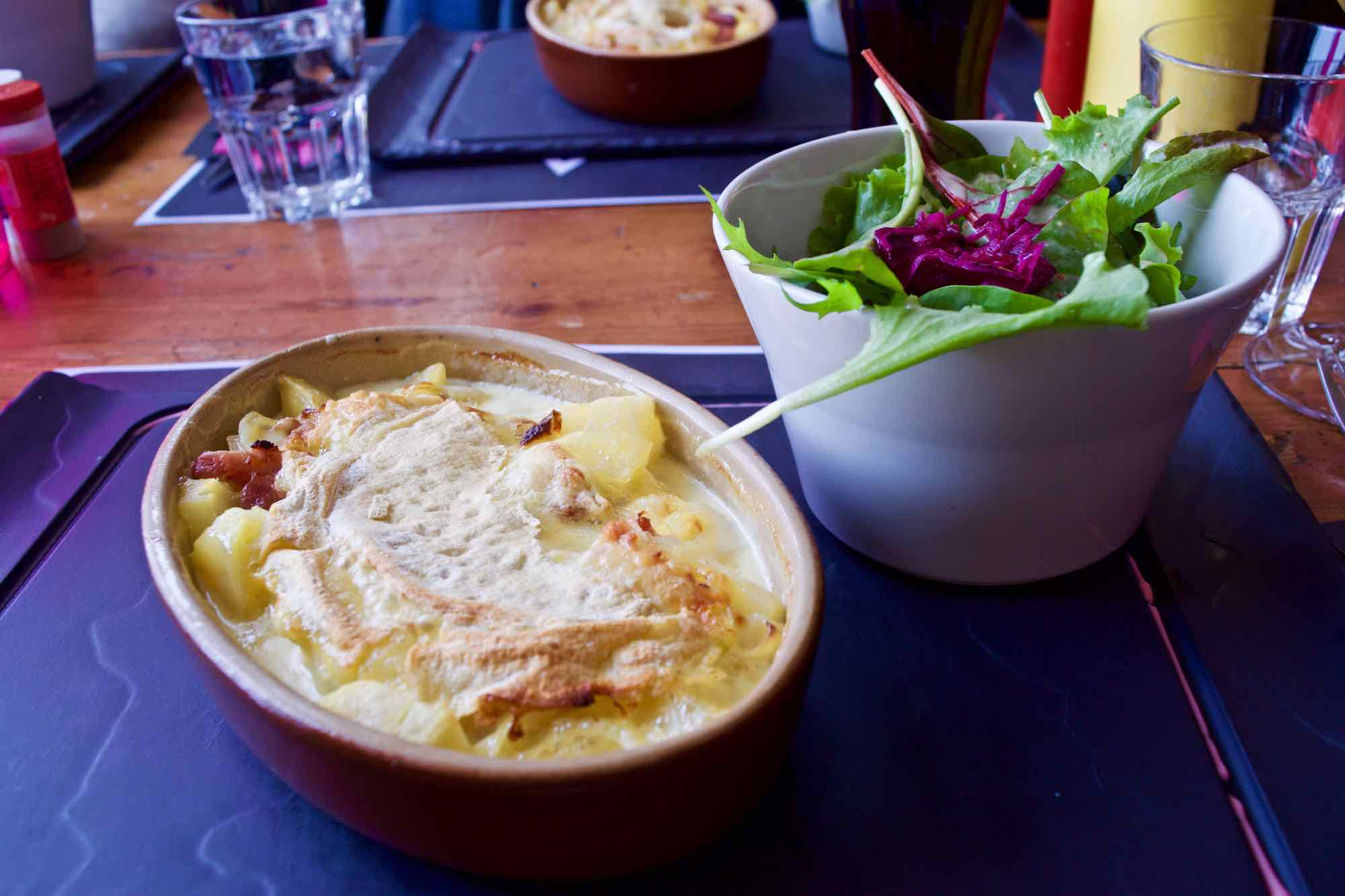Lunch in Tignes