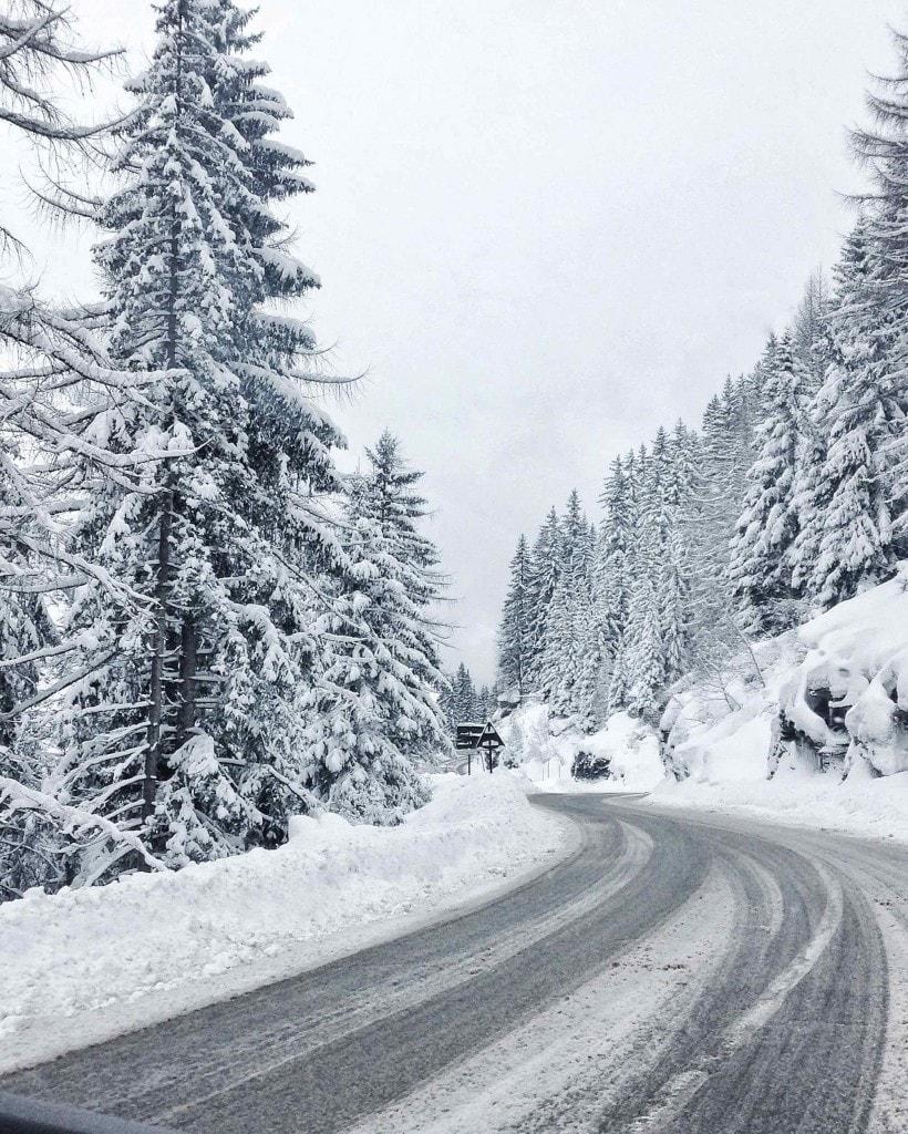 Road to Tignes, French Alps