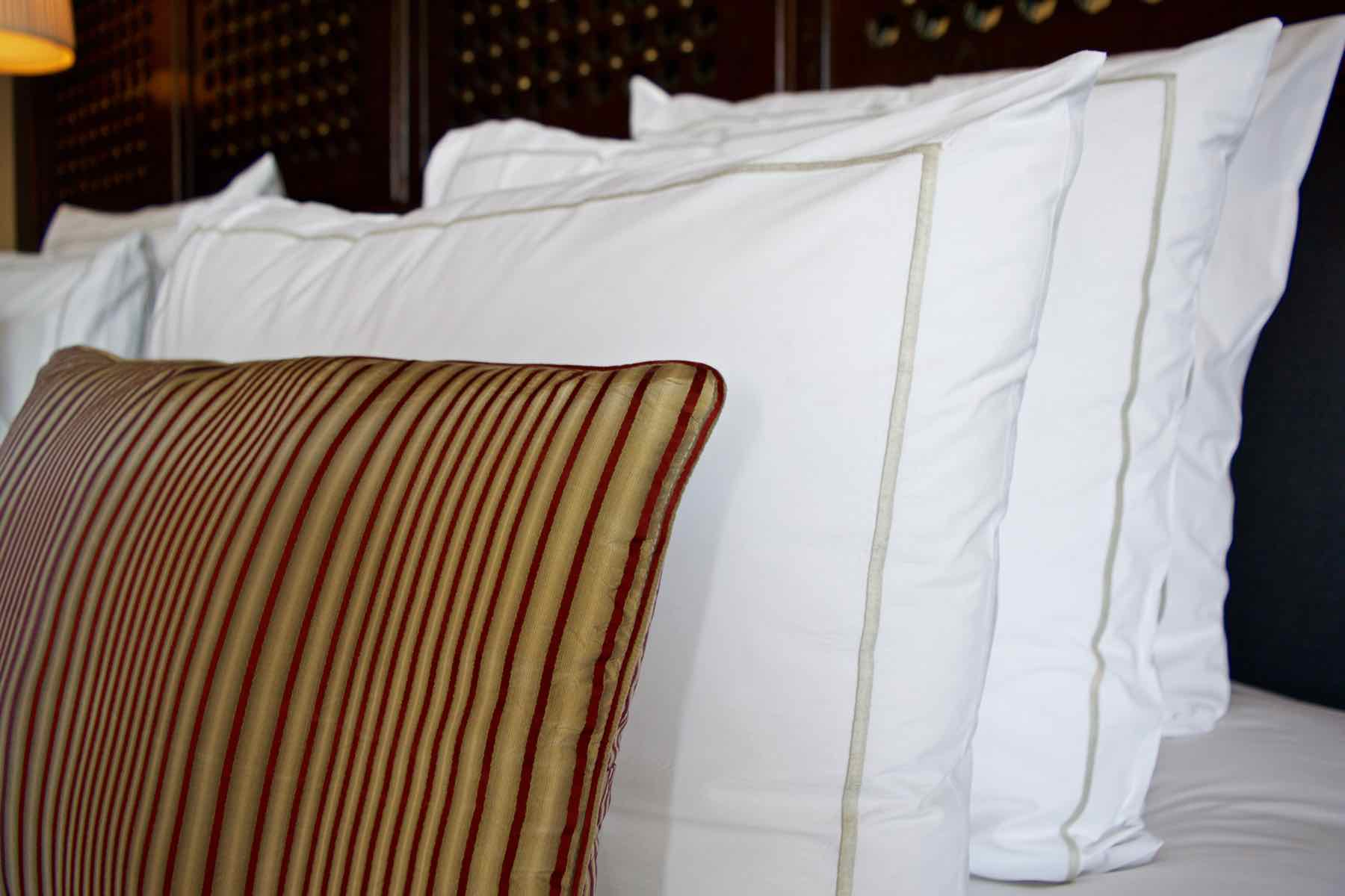Luxurious Bedding in the Senior Suite at Royal Palm Marrakech