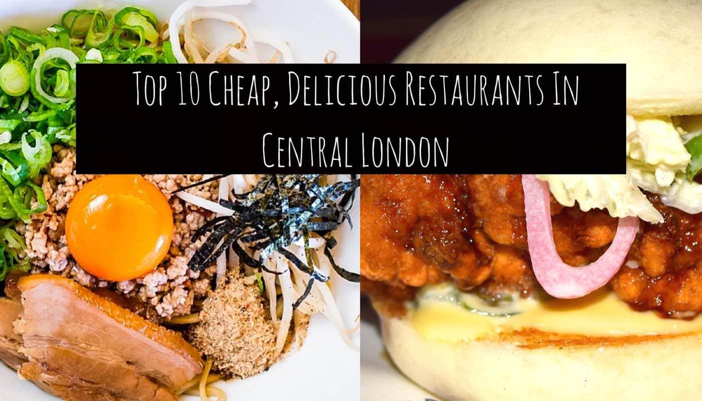 Cheap deals in london restaurants