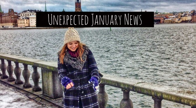 Unexpected January News, Plus Top Places To Visit In England in 2016 and Lumiere London