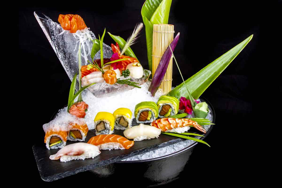 Buddha Bar Marrakech Sushi Platter