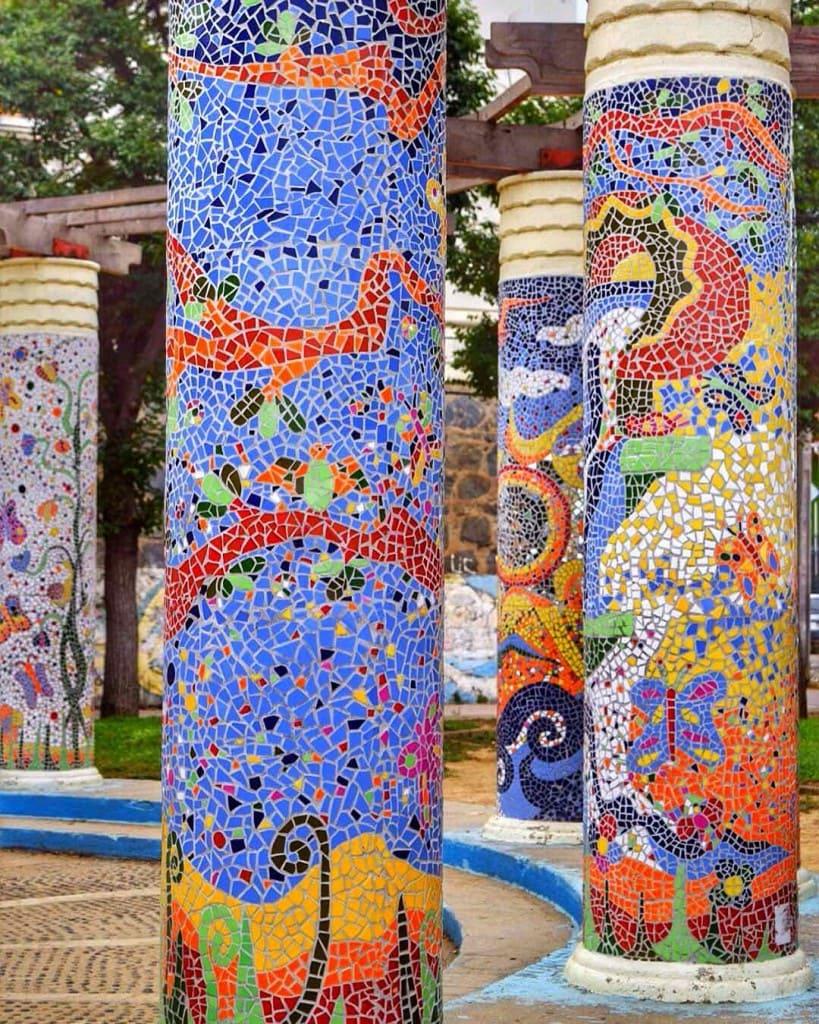 Mosaics in Valparaiso Chile