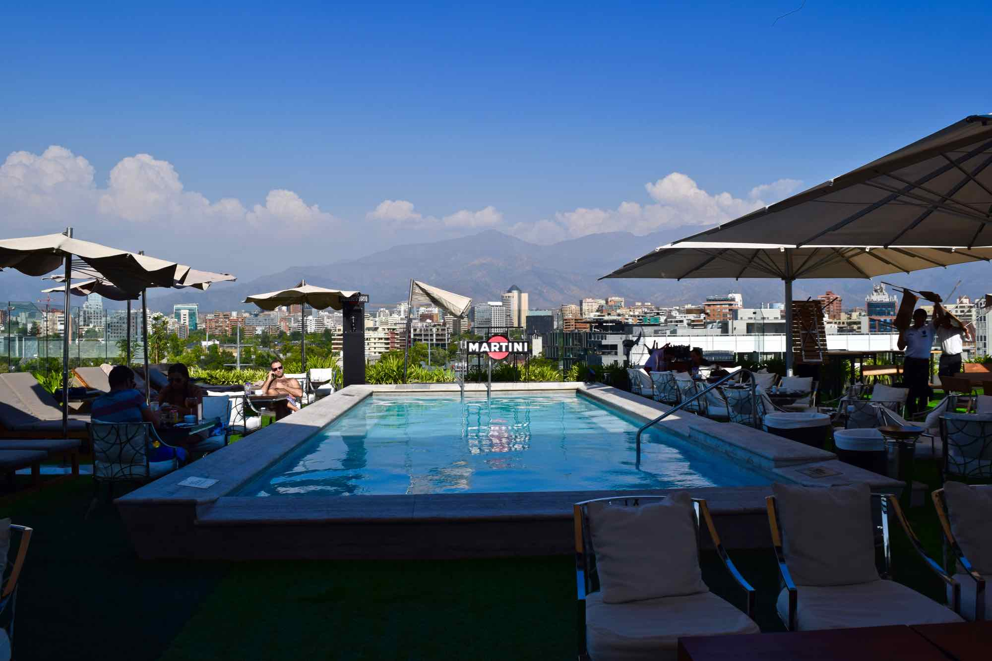 Noi Vitacura Rooftop Bar   Pool  Santiago  Chile. The Best Luxury Hotels In Santiago  Chile   Wanderlust Chloe
