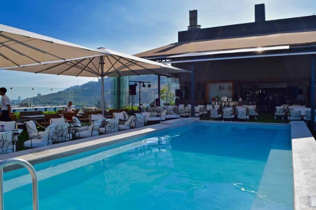 Noi Vitacura Rooftop Pool