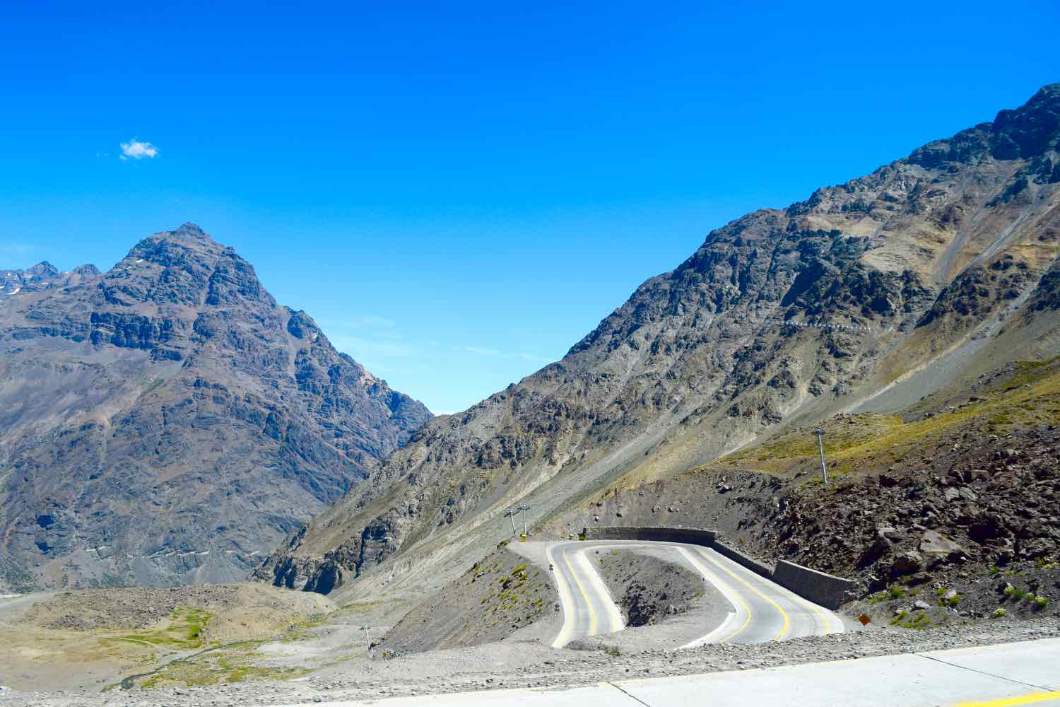 Imagine travelling these roads by bus in Chile