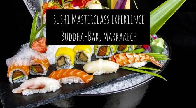 Sushi Masterclass Experience at Buddha-Bar Marrakech