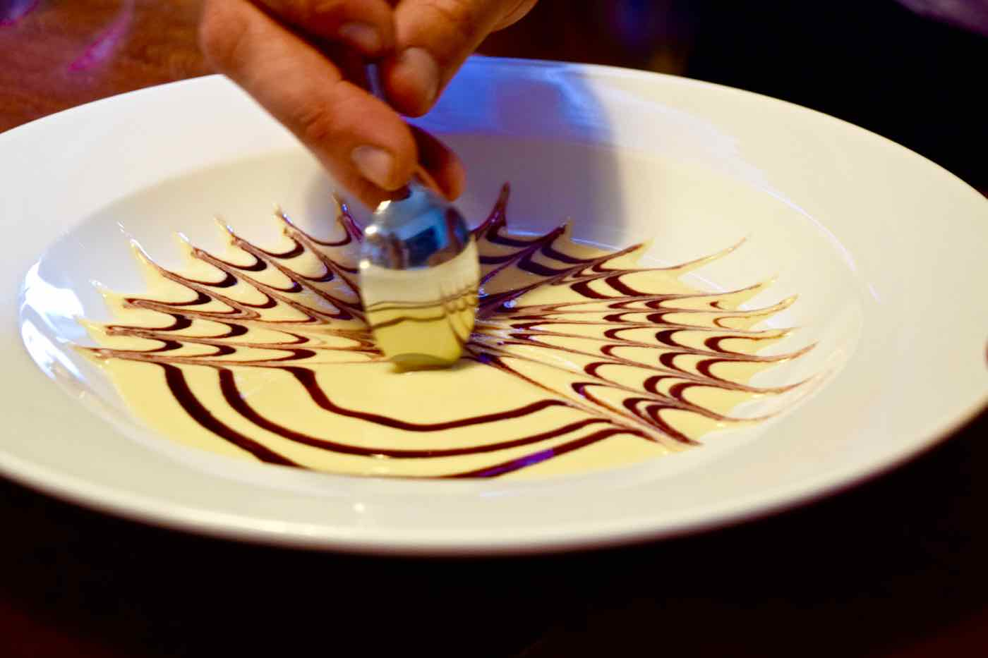 Creme Anglaise, Uncorked Chile cooking class, Santiago