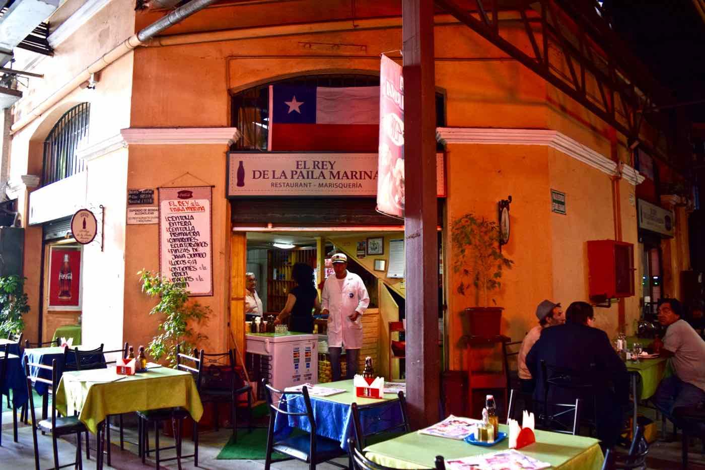 Mercado Central, Santiago, Chile