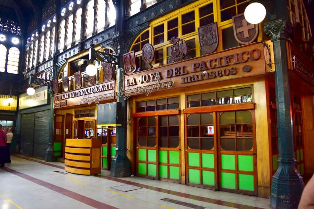 Mercado Central, Santiago, Chile