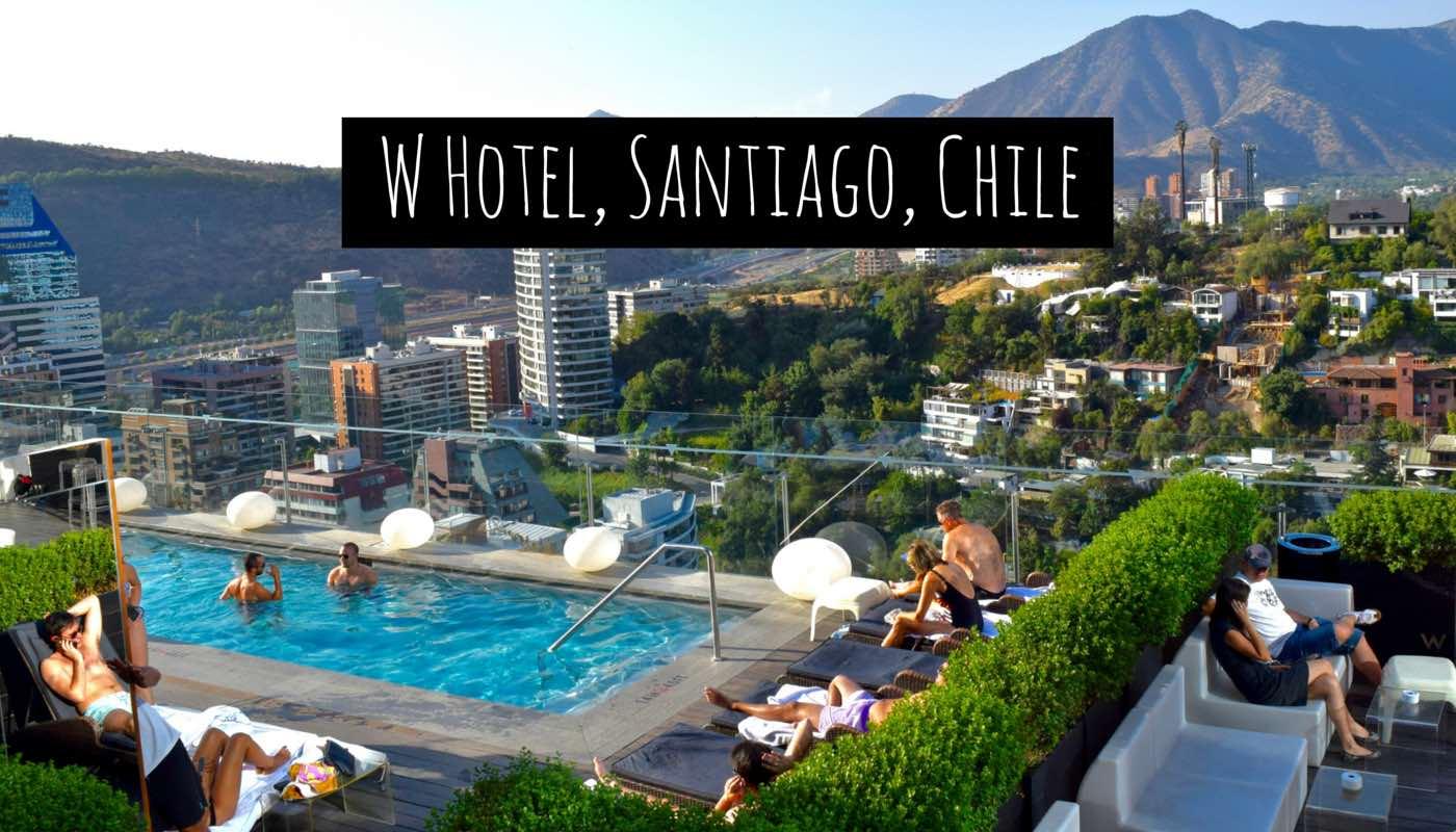 W hotel santiago chile 2018 world 39 s best hotels for Piscina hotel w santiago