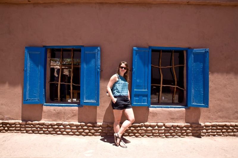 Hanging out in San Pedro De Atacama, Chile