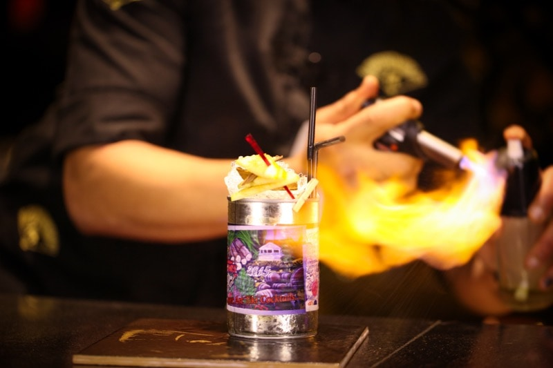 Buddha Bar Marrakech Spring Cocktails