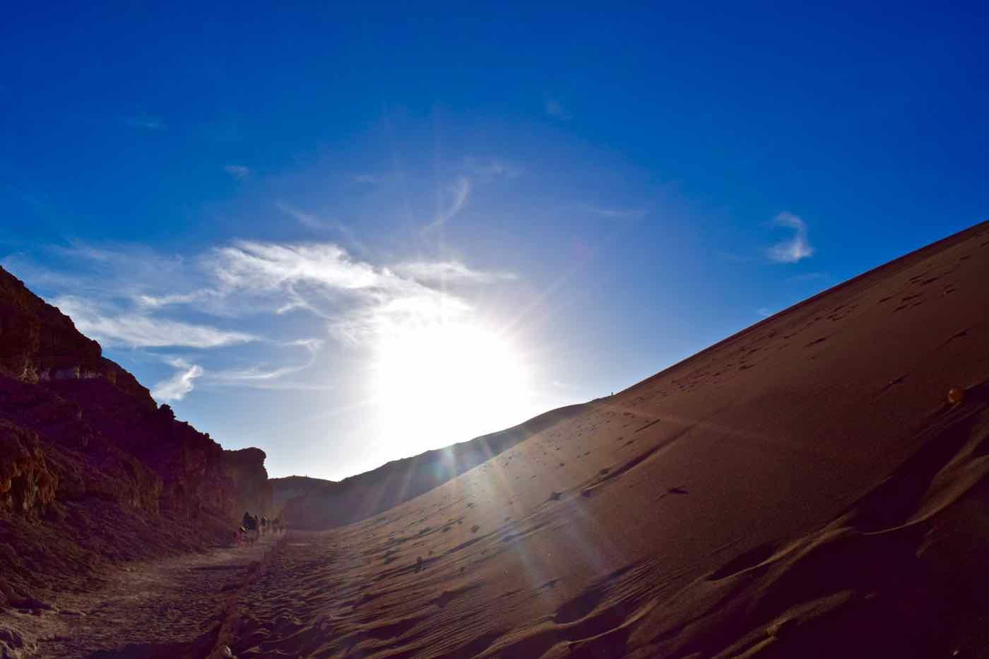 Sand Dune - El Valle De La Luna, Chile