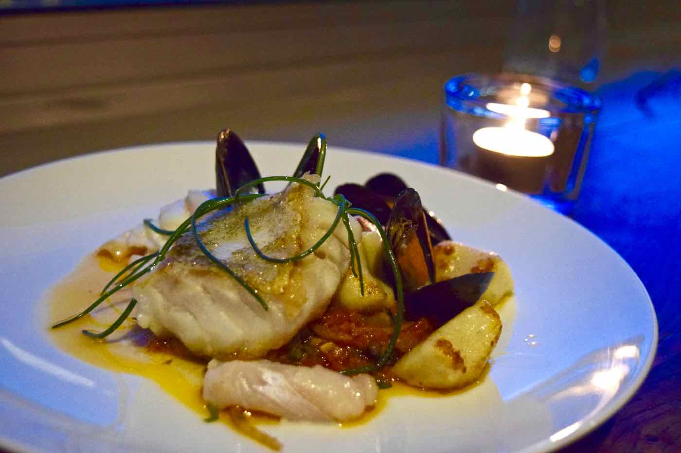 Cod at Osteria London
