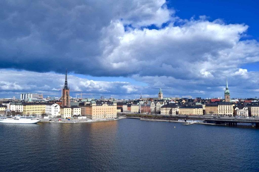 View of Stockholm Sweden