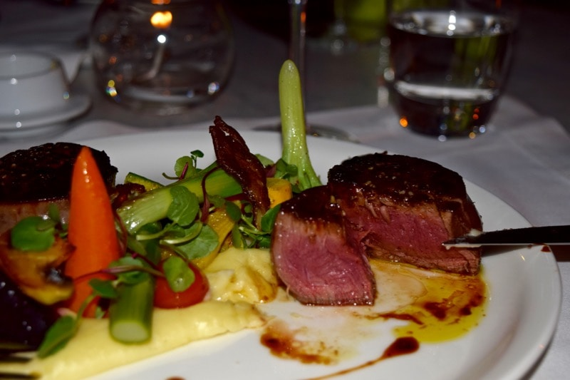 Steak at The Singular Hotel, Santiago