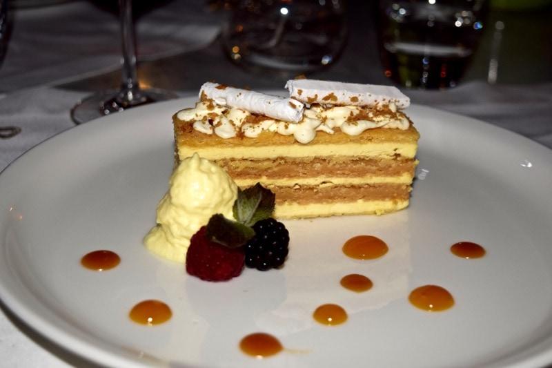 Dessert at The Singular Hotel, Santiago