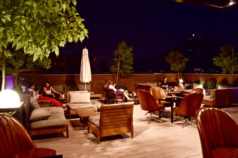 Rooftop Bar at The Singular Hotel, Santiago