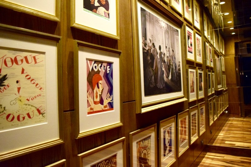 Picture Wall at The Singular Hotel, Santiago