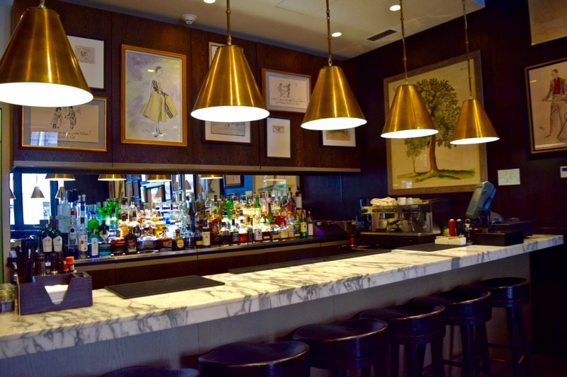 Bar Area at The Singular Hotel, Santiago