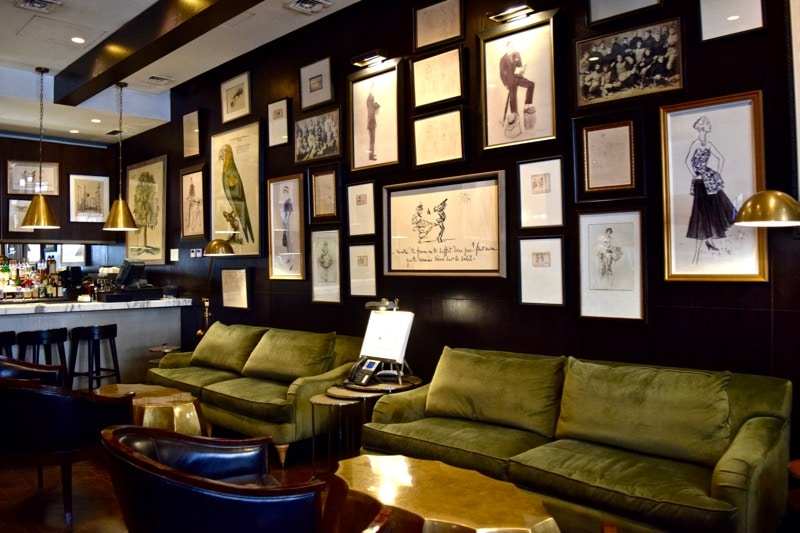 Lounge and Bar Area at The Singular Hotel, Santiago