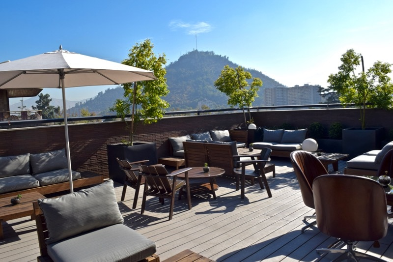Rooftop at The Singular Hotel, Santiago