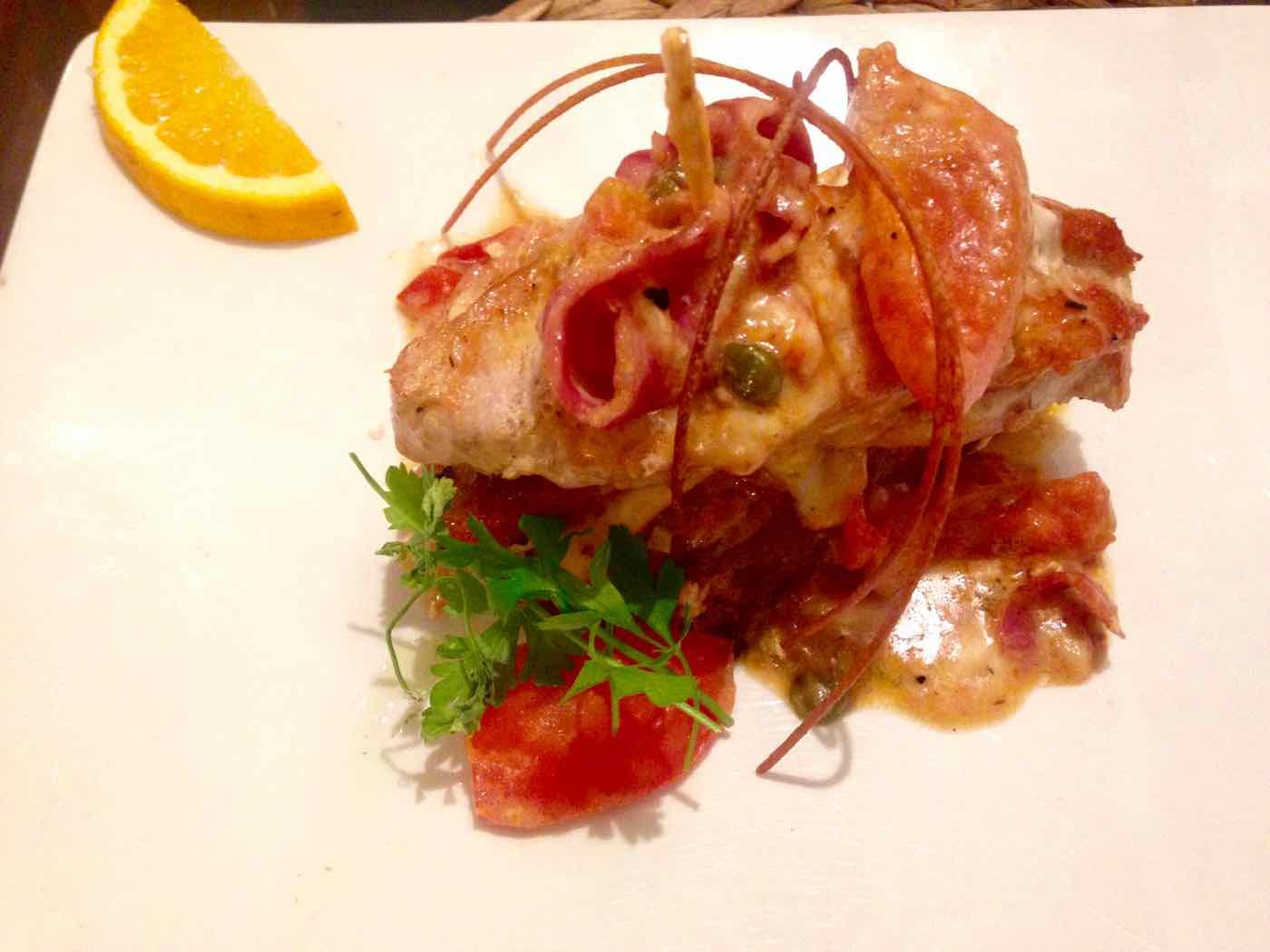 Turkey dish at Cocina Puerto