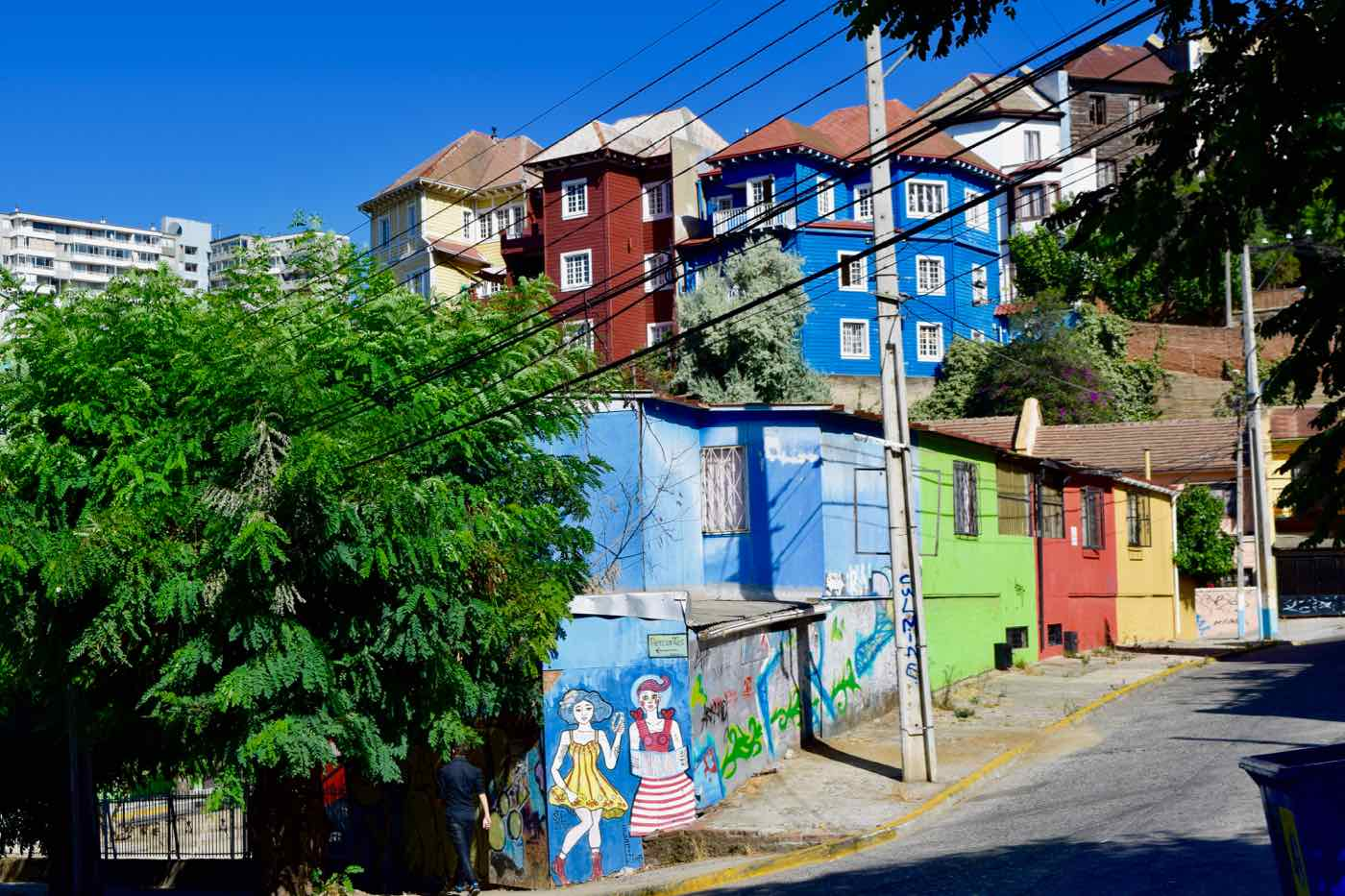 Some of the best street art in Valparaiso, Chile