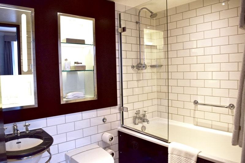 Bathroom at Andaz Hotel Liverpool Street, London