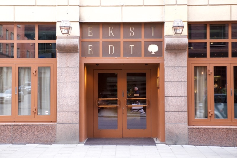 Exterior of Ekstedt Restaurant, Stockholm