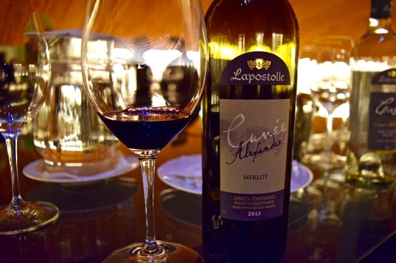 Wine tasting - Lapostolle Cuvée Alexandre Merlot 2013