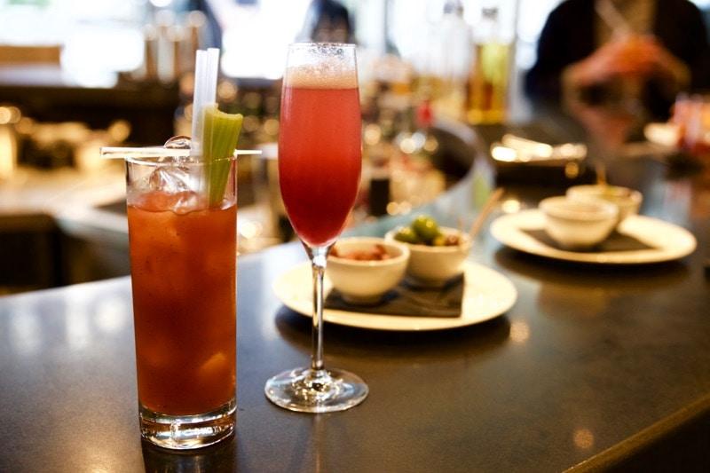 Cocktails at Obicà Restaurant, St Paul's, London