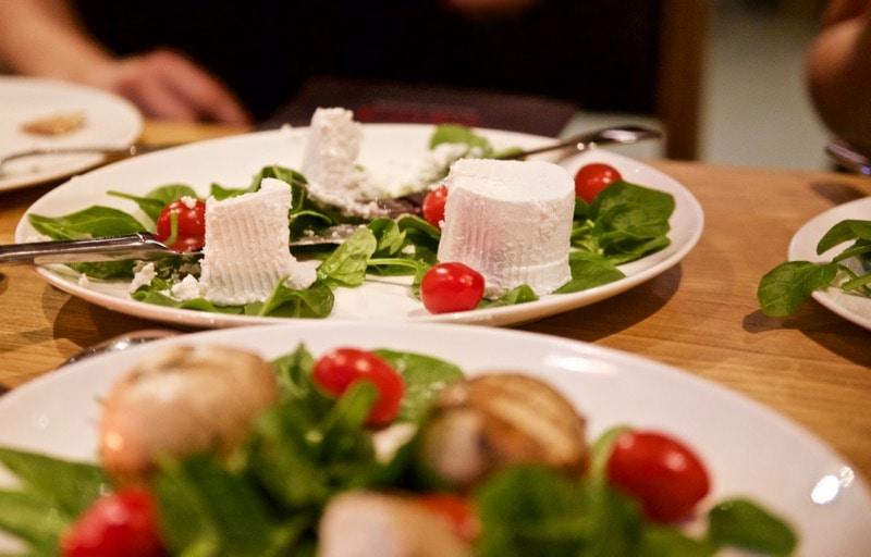 Fresh ricotta at Obicà Restaurant, St Paul's, London