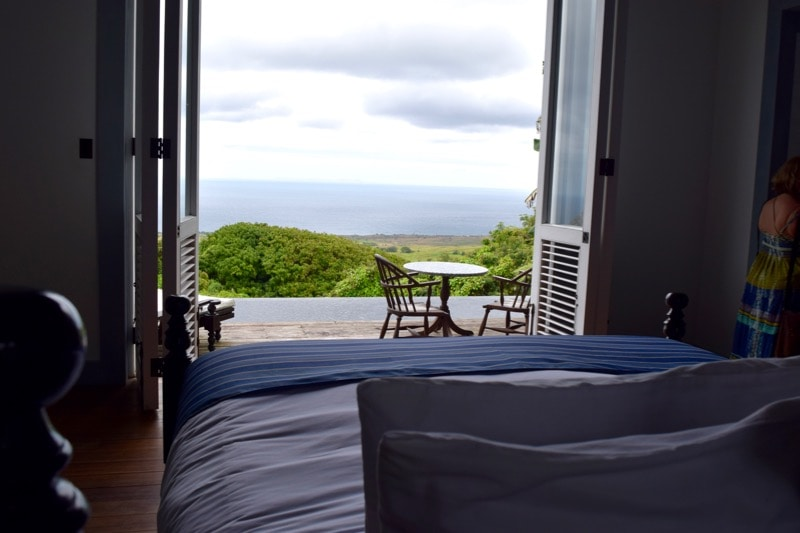 Bedroom at Belle Mont Farm, St Kitts