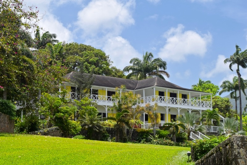 The Great House at Ottley's Plantation Inn, St Kitts