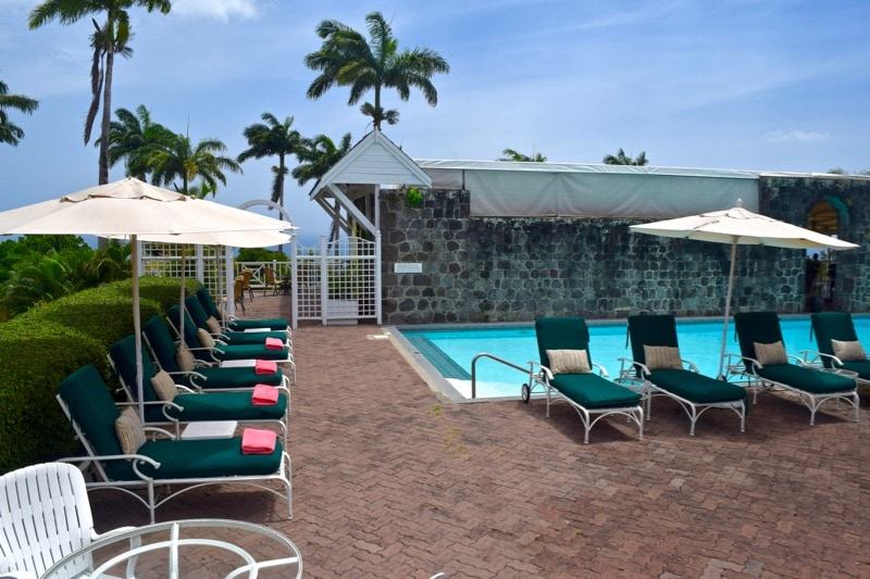 Swimming pool at Ottley's Plantation Inn, St Kitts