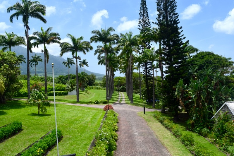 Gardens at Ottley's Plantation Inn, St Kitts