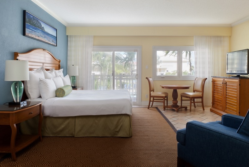 Bedroom at St. Kitts Marriott Resort (photo: Jeff Herron)