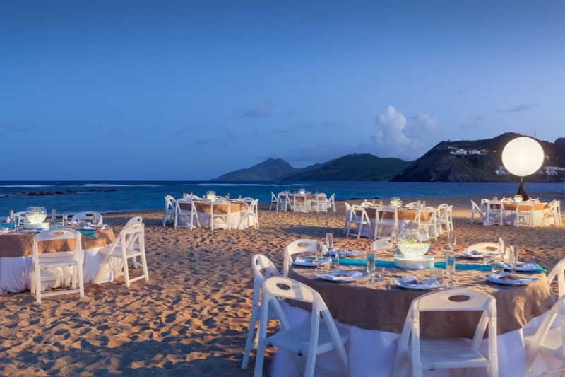 Beach at St. Kitts Marriott Resort (photo: Jeff Herron)