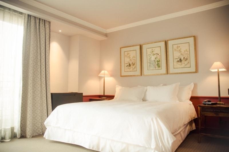 Bedroom at The Singular Hotel Santiago