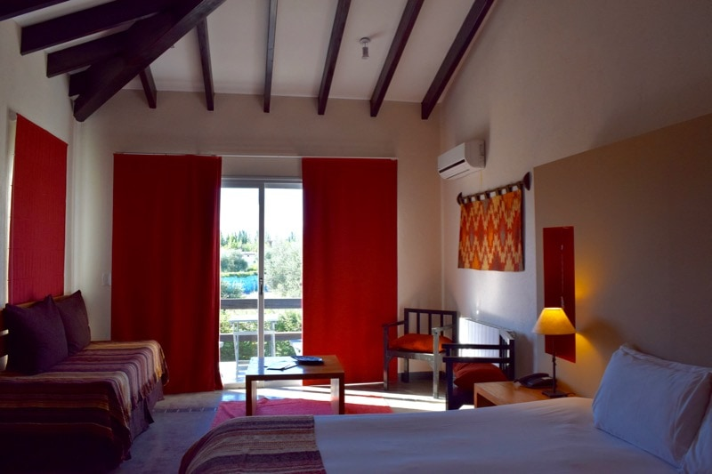 Our room at Villa Mansa Hotel