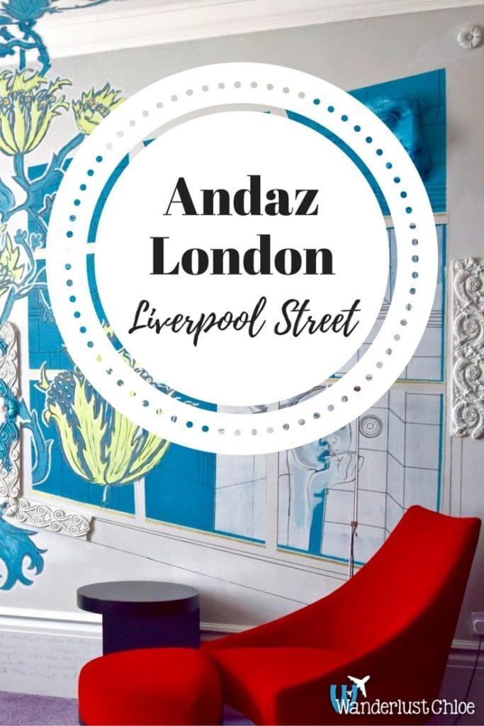 Andaz London Liverpool Street Hotel