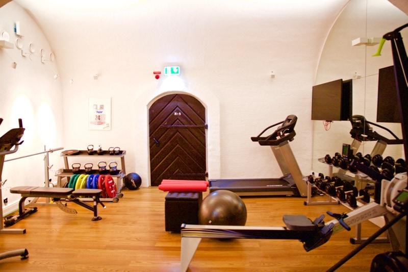 Gym at Hotel Kungsträdgården Stockholm